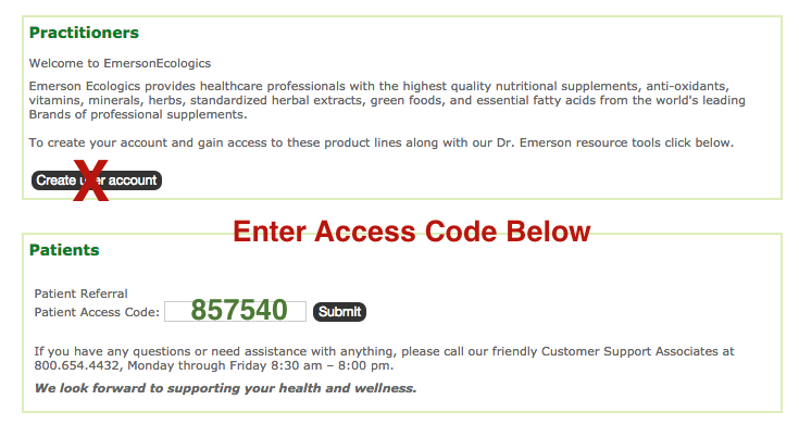 Emerson ecologics coupon code