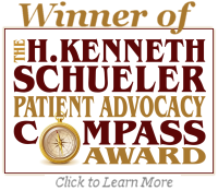 Winner of the Schueler Patient Advocacy Compass Award
