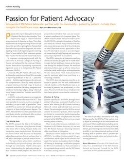 Passion for Patient Advocacy